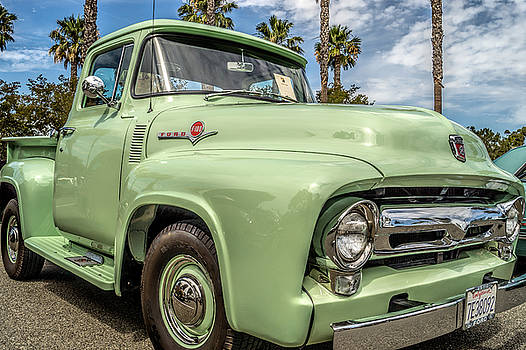 1956 Ford F-100 Pickup by Steve Benefiel