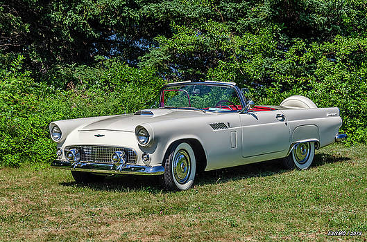1956 Ford Thunderbird by Ken Morris