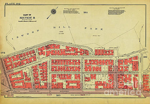 1956 Inwood Map  by Cole Thompson