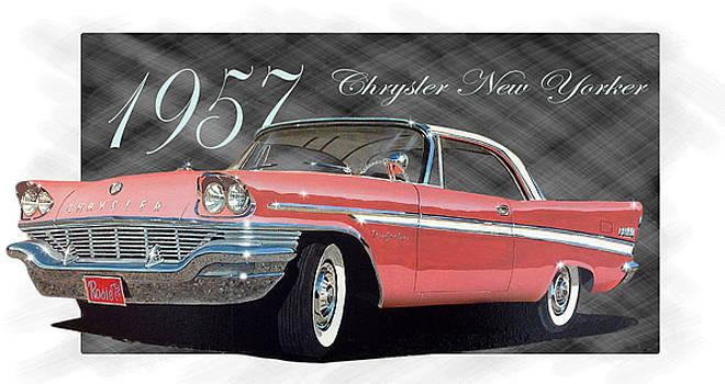 1957 Chrysler New Yorker by Richard Mordecki