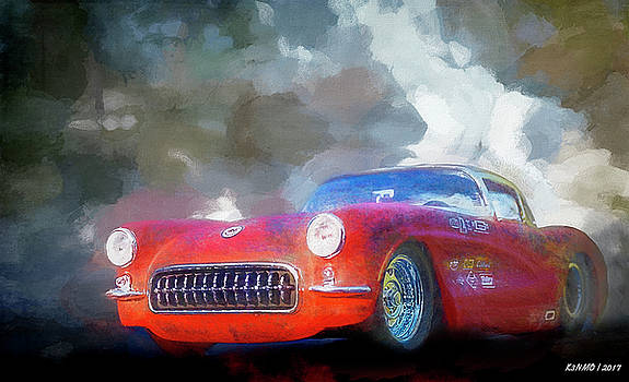 1957 Corvette hot rod by Ken Morris