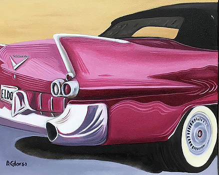 1957 Eldorado-Red by Dean Glorso