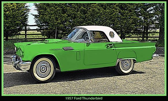 1957 Thunderbird by Frank Johnson