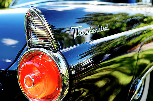 1957 Ford Thunderbird Tail Fin by Nate Heldman