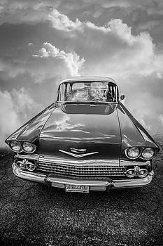 Debra and Dave Vanderlaan - 1958 Chevrolet Biscayne in Black and White