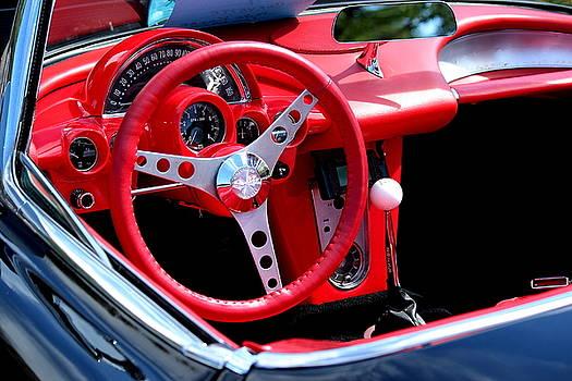 Rosanne Jordan - 1958 Corvette Steering Wheel