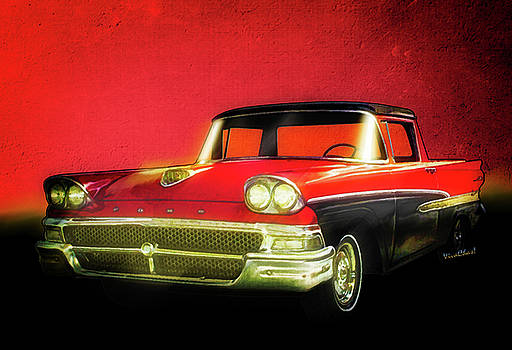 1958 Ford Ranchero 1st Generation by Chas Sinklier
