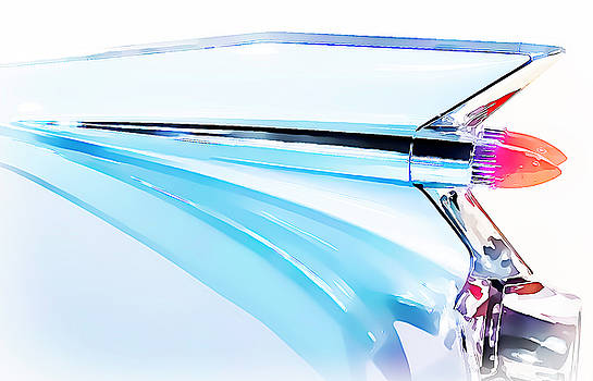 1959 Cadillac Fin by Roger McBee