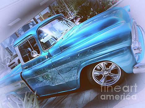 1959 Chevy Apache Truck by Mariola Bitner