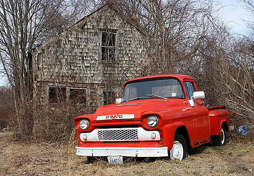 Anne Babineau - 1959 GMC pickup