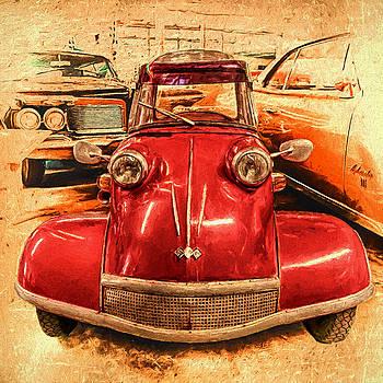 Susan Rissi Tregoning - 1959 Messerschmitt KR200 Kabinenroller