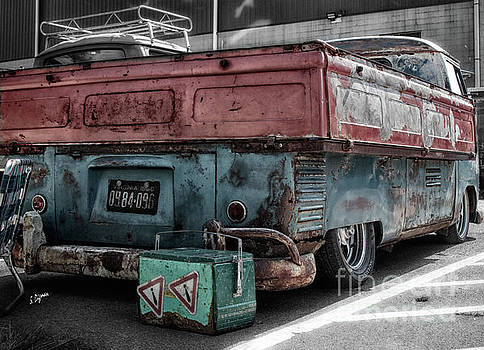 1960 Appalachian VW  by Steven Digman