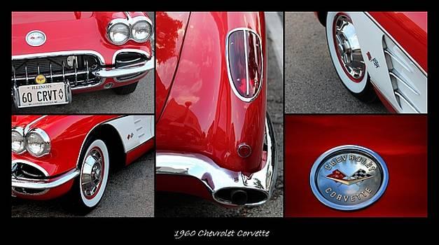 Rosanne Jordan - 1960 Chevrolet Corvette Collage
