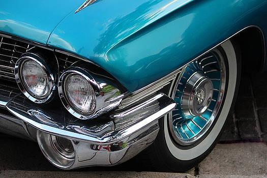 Rosanne Jordan - 1961 Cadillac headlight