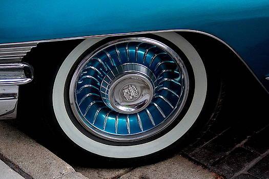 Rosanne Jordan - 1961 Cadillac wheel