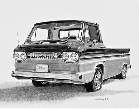 1961 Chevrolet Corvair Rampside by Daniel Storm