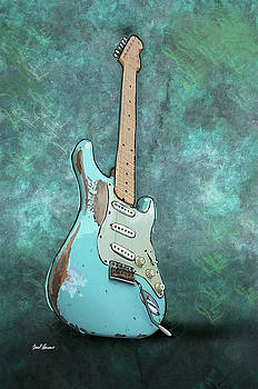 1962 Fender Stratocaster by Brad Burns