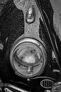 1962 VW Beetle in the Rain by Ken Morris