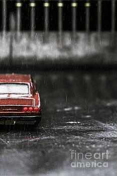 Benjamin Harte - 1964 Chevy Impala in the rain