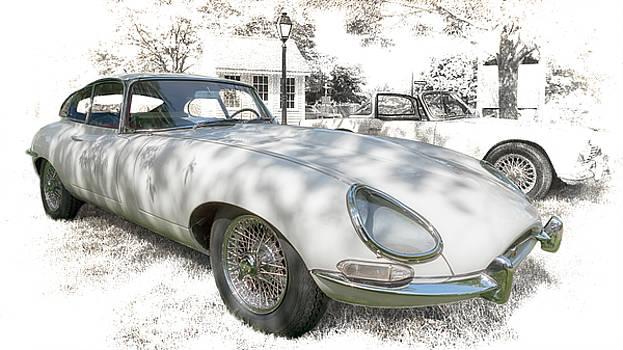 Susan Rissi Tregoning - 1964 Jaguar E Type