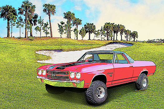 1970 Chevy El Camino 4x4 Not 2nd Generation 1964-1967 by Chas Sinklier