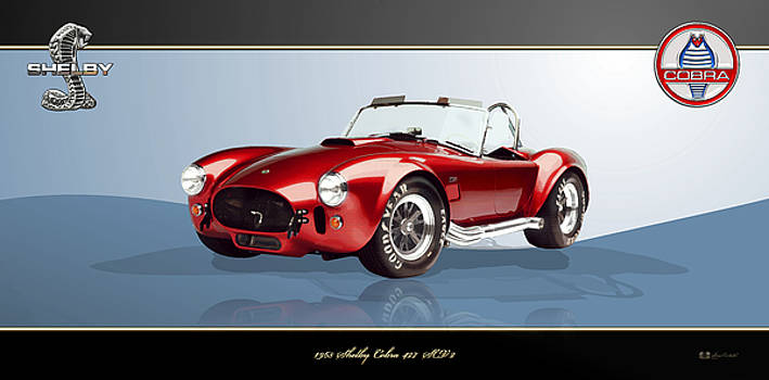 Serge Averbukh - 1965 Red Shelby Cobra 427SC