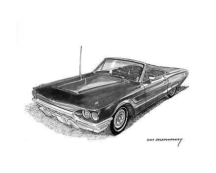 1965 Thunderbird Convertible by Ford by Jack Pumphrey