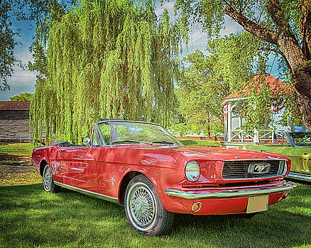 Susan Rissi Tregoning - 1966 Ford Mustang Convertible