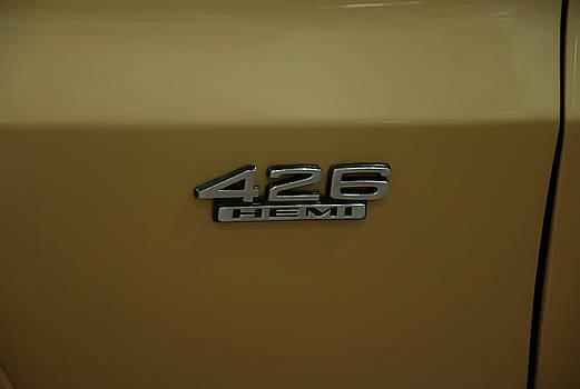 Chris Flees - 1967 Belvedere GTX 426 Hemi badge