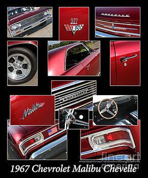 Gary Gingrich Galleries - 1967 Chevrolet Malibu Chevelle - Red