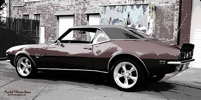 1968 Camaro Super Sport by Randall Thomas Stone
