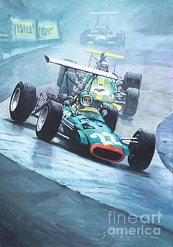 1968 German GP Nurburgring  by Yuriy Shevchuk