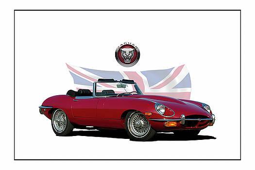 1969 E-Type Jaguar by Peter Chilelli