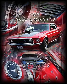 1969 Mustang Mach 1 CJ by Andrew Sliwinski