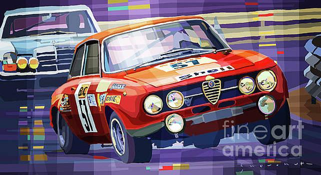 1970 Alfa Romeo Giulia GT by Yuriy Shevchuk