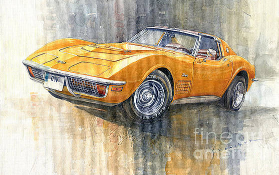 1971 Chevrolet Corvette LT1 Coupe by Yuriy Shevchuk