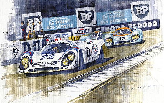 1971 Le Mans winner 24 Porsche 917K #22 by Yuriy Shevchuk