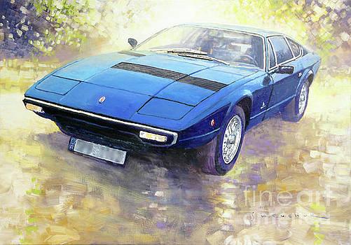 1972 Maserati Khamsin  by Yuriy Shevchuk