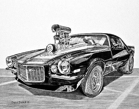 1973 Camaro Z28 by Daniel Storm