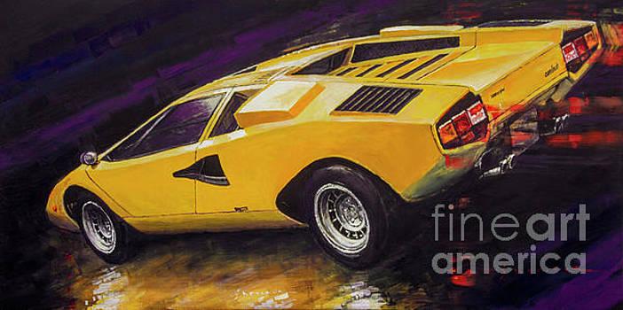 1974 Lamborghini Countach LP400 by Yuriy Shevchuk