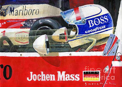 1976 Jarama Marlboro F1 Team McLaren Jochen Mass by Yuriy Shevchuk