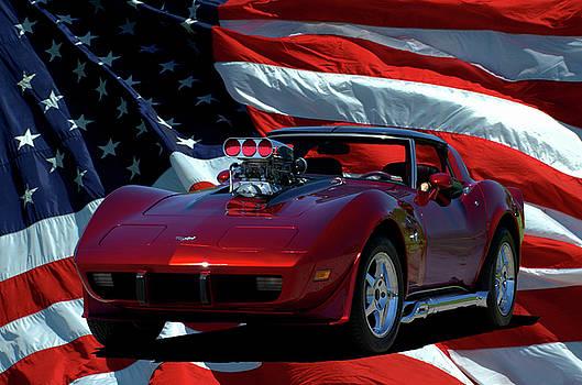 Tim McCullough - 1979 Corvette Dragster