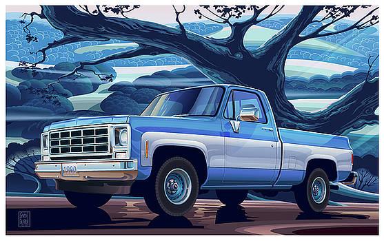 Garth Glazier - 1980-Chevrolet Custom-C10-Short-Bed 350 v8