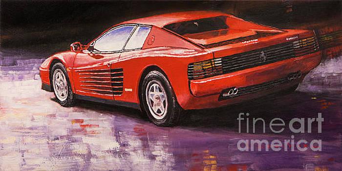 1984 Ferrari Testarossa  by Yuriy Shevchuk
