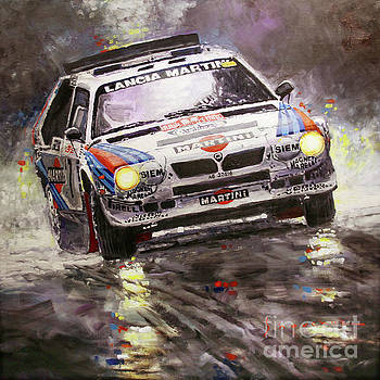 1986 Rallye Monte-Carlo  Lancia Delta S4 Lancia Martini  Toivonen Cresto winner by Yuriy Shevchuk