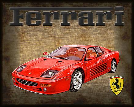 Jack Pumphrey -  Ferrari F 512M 1995