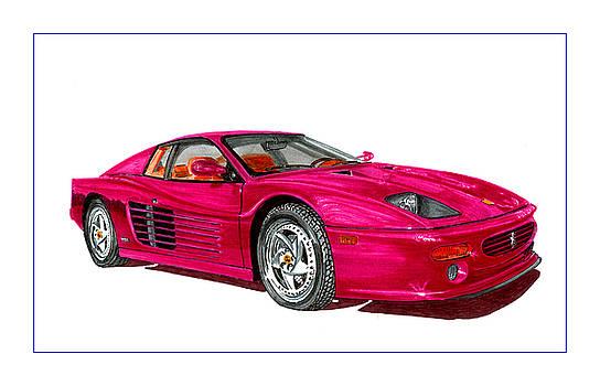 Jack Pumphrey - Ferrari F 512 M Russo 1995