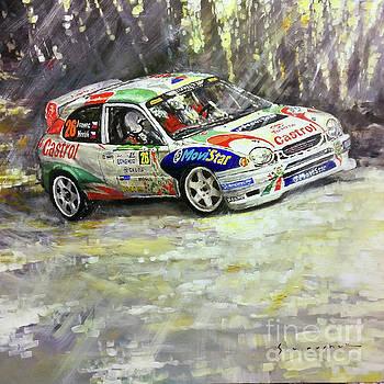 1997-1999 Toyota Carolla WRC by Yuriy Shevchuk