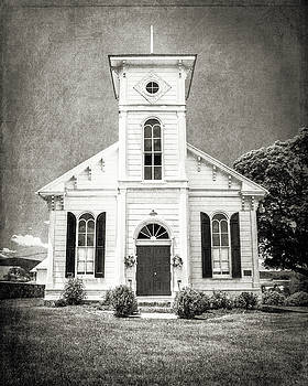 19th Century White Chapel by Emily Kay