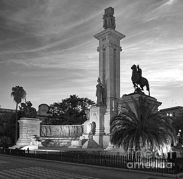 1812 Constitution Centennial Memorial Spain Cadiz Spain by Pablo Avanzini